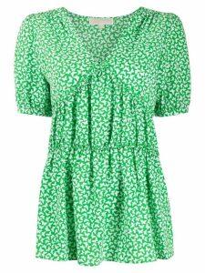 Michael Michael Kors Butterfly print blouse - Green