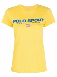 Polo Ralph Lauren logo print T-shirt - Yellow