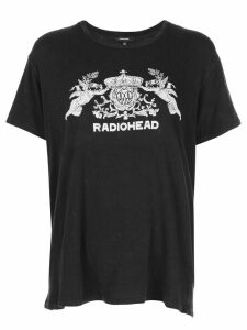 R13 Radiohead relaxed-fit T-shirt - Black