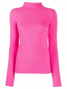 MRZ Craterino fine knit top - PINK
