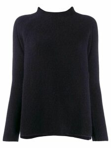 Kristensen Du Nord funnel neck jumper - Blue