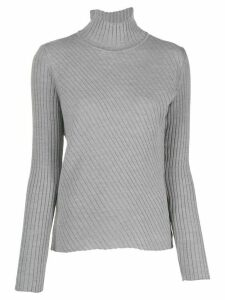 Pinko ribbed turtleneck jumper - Grey