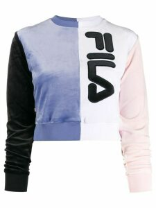 Fila logo colour block sweatshirt - Blue