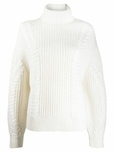 Emilia Wickstead Mirren oversized jumper - White