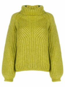 Stine Goya roll-neck jumper - Green