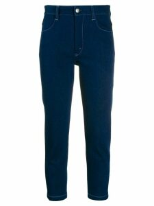 Chloé hight rise cropped jeans - Blue