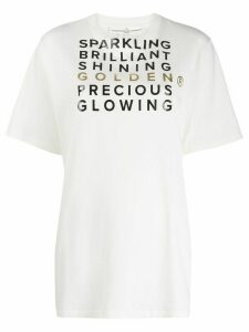 Golden Goose slogan oversized T-shirt - White