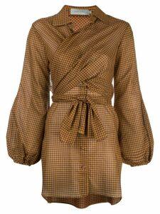 Silvia Tcherassi Drever wrap front blouse - Yellow