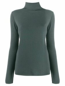 Kristensen Du Nord fine knit roll neck sweater - Green