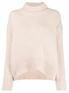 Ermanno Scervino chunky knit jumper - PINK