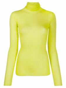 Joseph cashmere turtleneck jumper - Yellow