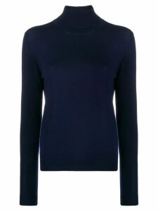 Aspesi fine knit turtleneck jumper - Blue