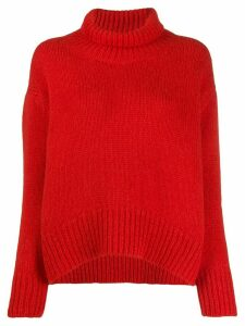 Ermanno Scervino chunky knit jumper - Red