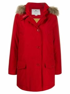 Woolrich Arctic padded parka coat - Red