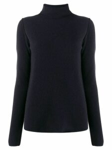 Kristensen Du Nord fine knit roll neck sweater - Blue