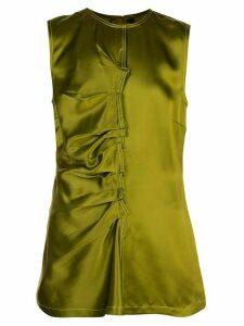 Sies Marjan Jules silk blouse - Green
