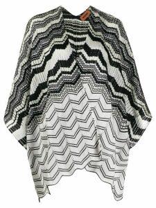 Missoni shawl style cardigan - Grey