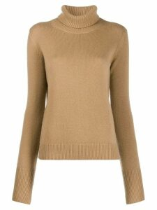 Joseph cashmere turtleneck jumper - Brown