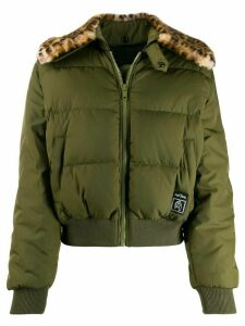 Marc Jacobs cropped bomber jacket - Green