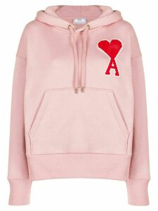 Ami Paris Big Ami de Caur Patch hoodie - Pink