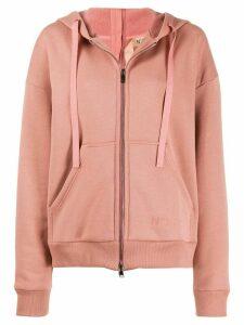 Nº21 double zip hoodie - Pink