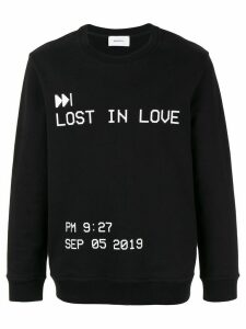 Ports V Lost in Love print sweatshirt - Black