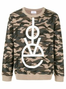 Ports V LOVE camo sweater - Green