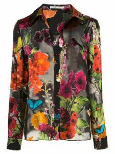 Alice+Olivia Eloise floral shirt - Multicolour