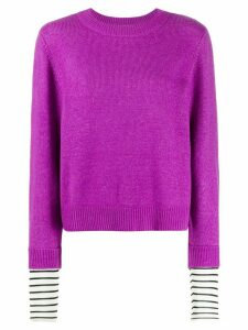 Essentiel Antwerp Tanger knitted jumper - Purple