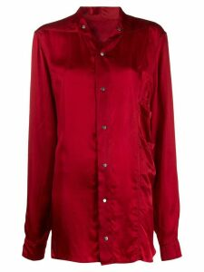 Rick Owens button-up shirt - Red