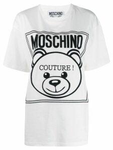 Moschino Teddy couture logo T-shirt - White