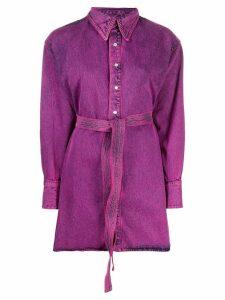 Matthew Adams Dolan boxy fit long sleeved shirt - PINK