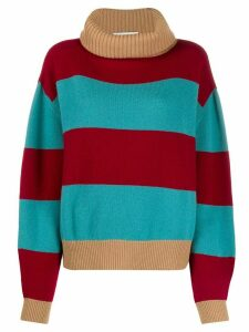 Société Anonyme Lili block stripe jumper - Red