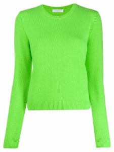 Majestic Filatures loose fit knitted jumper - Green