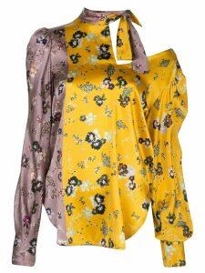 Silvia Tcherassi Diante floral blouse - PURPLE