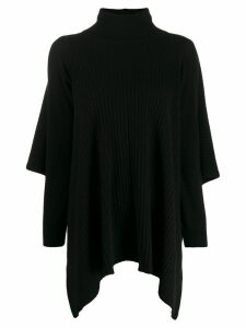 Pringle of Scotland roll-neck Blanket jumper - Black