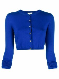 P.A.R.O.S.H. cropped long sleeve cardigan - Blue