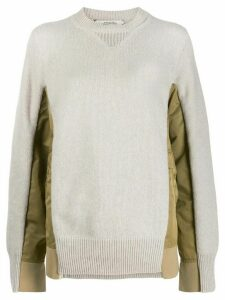 Dorothee Schumacher padded panel jumper - GOLD