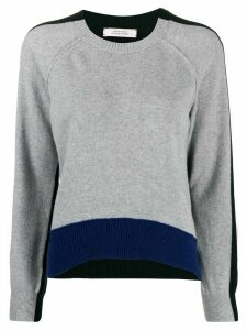 Dorothee Schumacher two-tone jumper - Grey