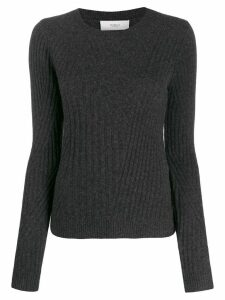 Pringle of Scotland fitted Travelling Rib jumper - Grey