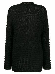 Société Anonyme Gemmi loose gauge jumper - Black