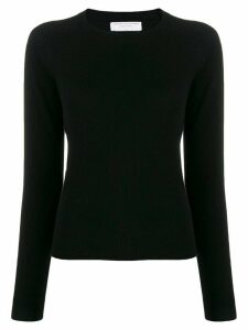Majestic Filatures crew-neck cashmere sweater - Black