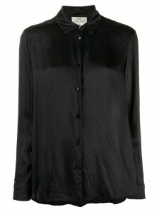 Forte Forte crease-finish loose shirt - Black