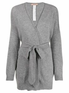 Twin-Set wrap cardigan - Grey