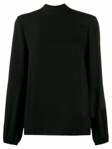 Theory high standing collar blouse - Black