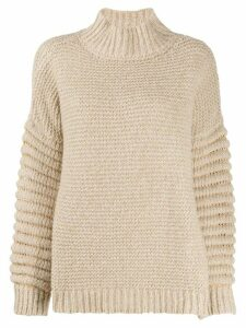 Snobby Sheep chunky knit jumper - NEUTRALS