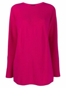 Joseph cashmere ribbed knit jumper - PINK
