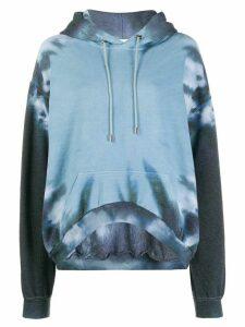 Collina Strada tie-dye hoodie - Blue