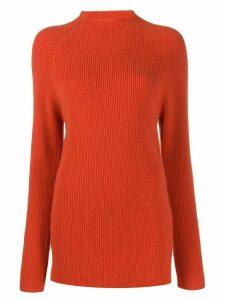 Joseph ribbed knit jumper - ORANGE