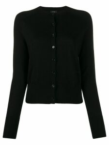 Joseph crew neck cardigan - Black